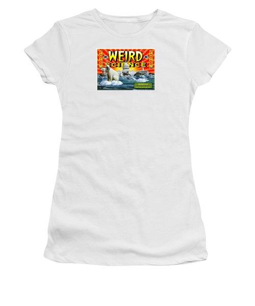 Weird Science Women's T-Shirt (Junior Cut) by Scott Ross