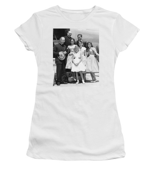 Welk And The Lennon Sisters Women's T-Shirt (Athletic Fit)