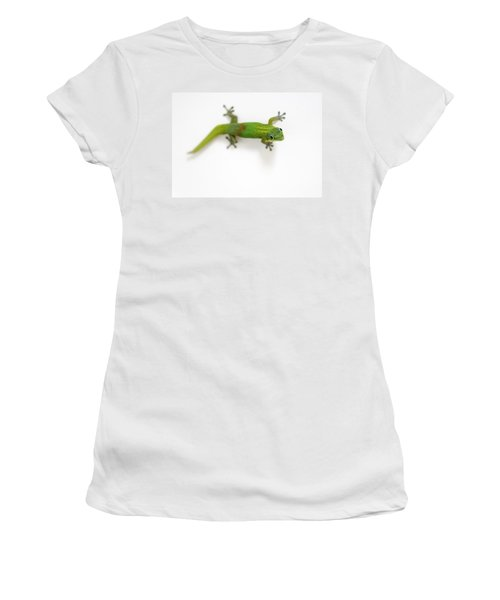 Well Hello There Women's T-Shirt (Junior Cut) by Denise Bird