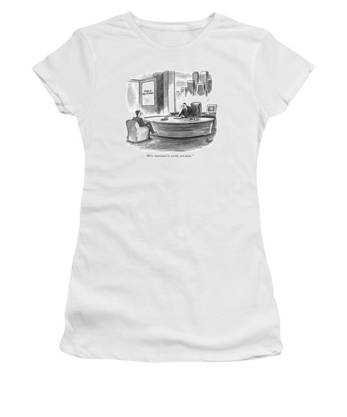 We're Interested In Words Women's T-Shirt