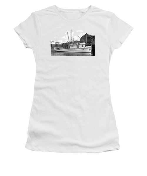 Western Flyer Purse Seiner Tacoma Washington State March 1937 Women's T-Shirt