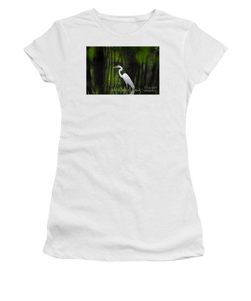 Wetland Wader Women's T-Shirt