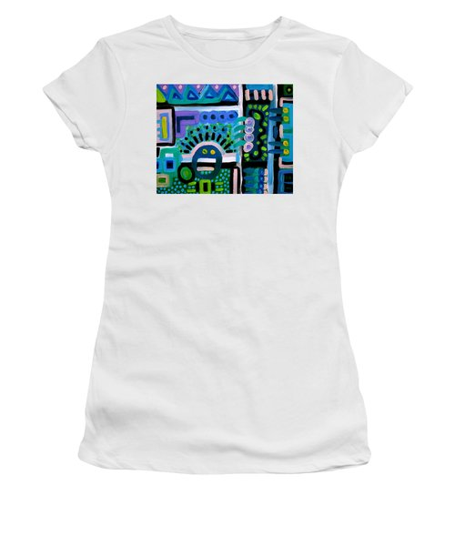 Whaaat Women's T-Shirt (Junior Cut) by Jeff Gater