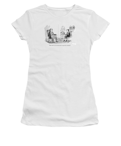 What Shall We Do With That Hour We Gain This Women's T-Shirt