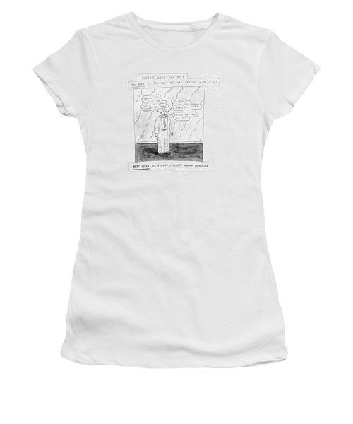 What's Next For Ed? Women's T-Shirt