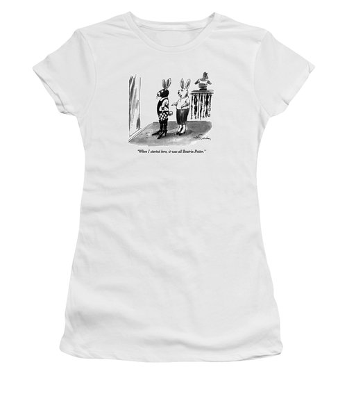 When I Started Here Women's T-Shirt