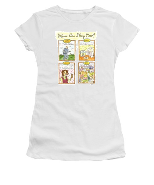 Where Are They Now? Women's T-Shirt (Athletic Fit)