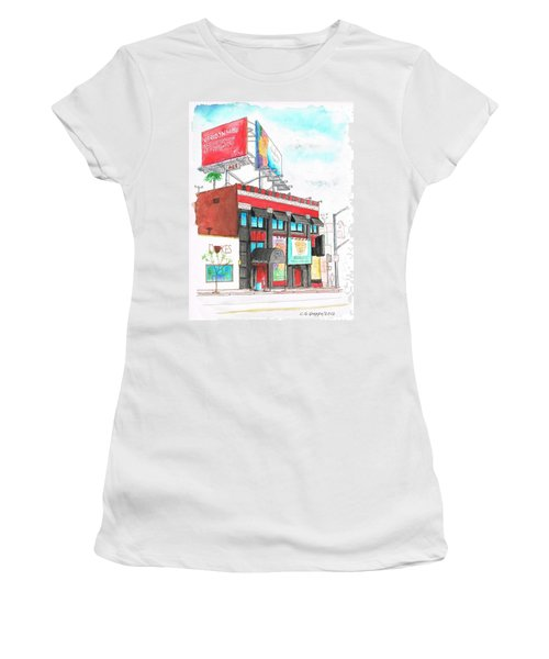 Whisky-a-go-go In West Hollywood - California Women's T-Shirt (Athletic Fit)