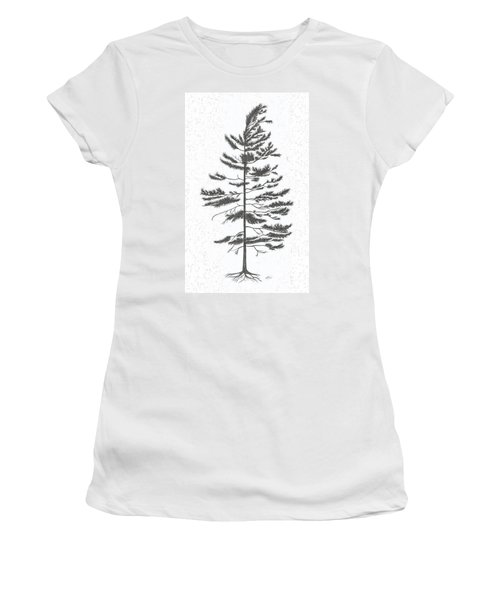 White Pine Women's T-Shirt (Athletic Fit)