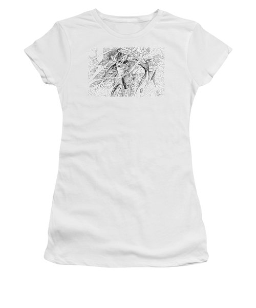White-tail Encounter Women's T-Shirt
