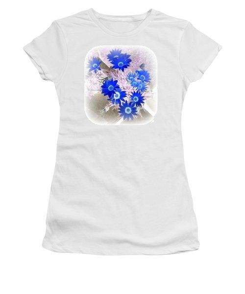 Women's T-Shirt (Junior Cut) featuring the photograph Wild Blue by Kenneth Clarke