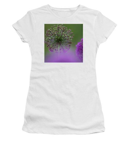 Wild Onion Women's T-Shirt (Junior Cut) by Heiko Koehrer-Wagner