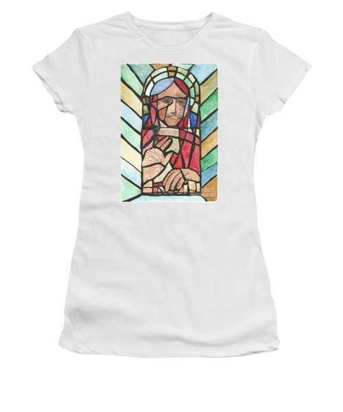 Window Of Peace Women's T-Shirt (Athletic Fit)