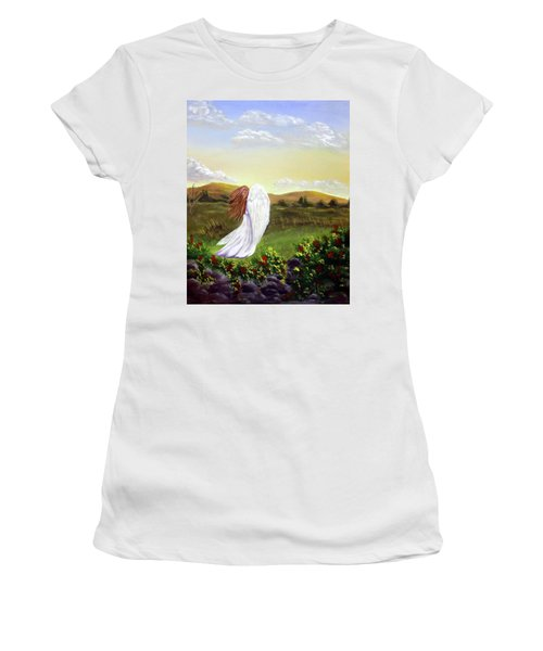 Windswept Angel Women's T-Shirt