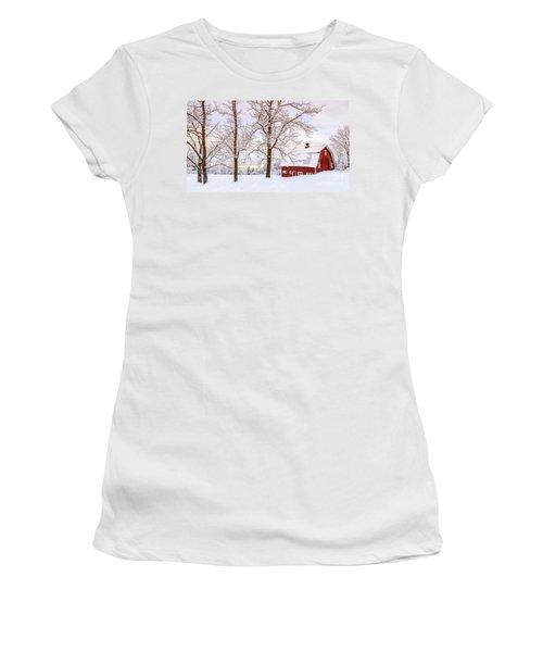 Winter Arrives Women's T-Shirt