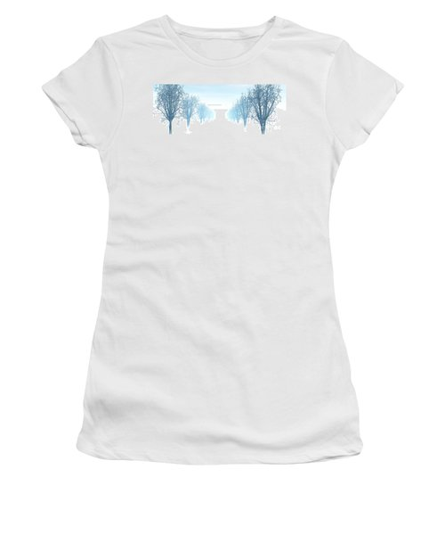 Winter Avenue Women's T-Shirt (Athletic Fit)