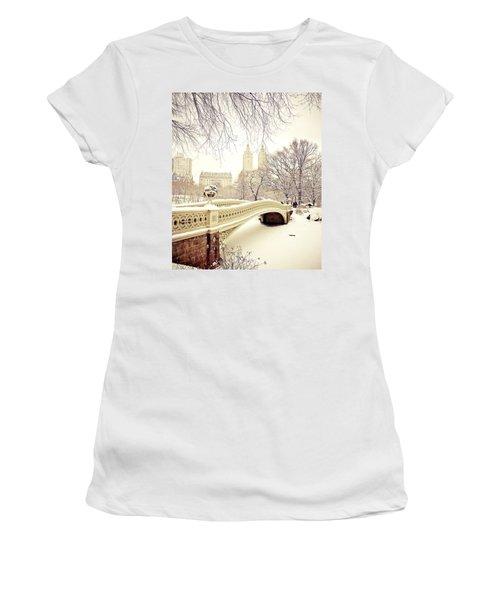 Winter - New York City - Central Park Women's T-Shirt