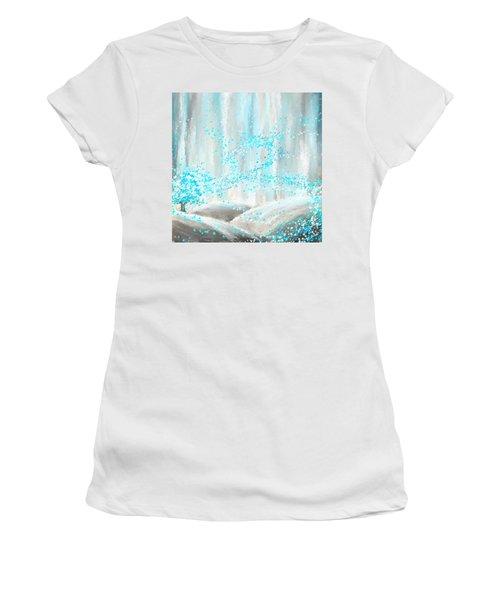 Winter Showers Women's T-Shirt