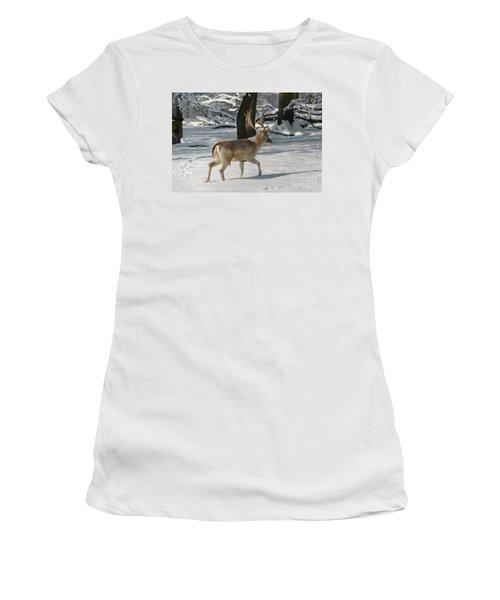 Winter Walk Women's T-Shirt (Athletic Fit)