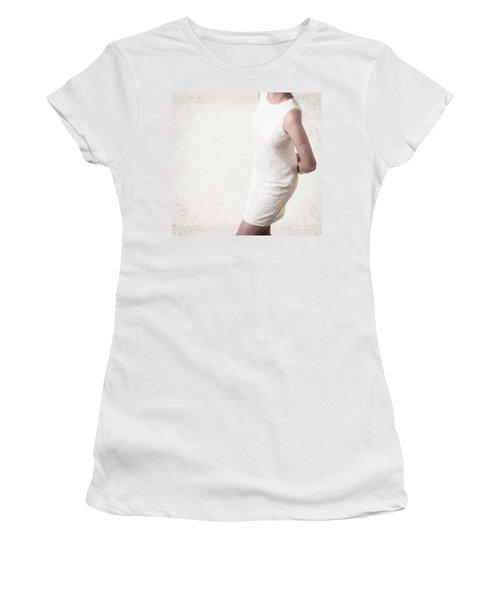 Woman In Lace Dress Women's T-Shirt