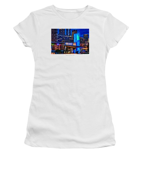 World Of Coca Cola Poster Women's T-Shirt (Athletic Fit)