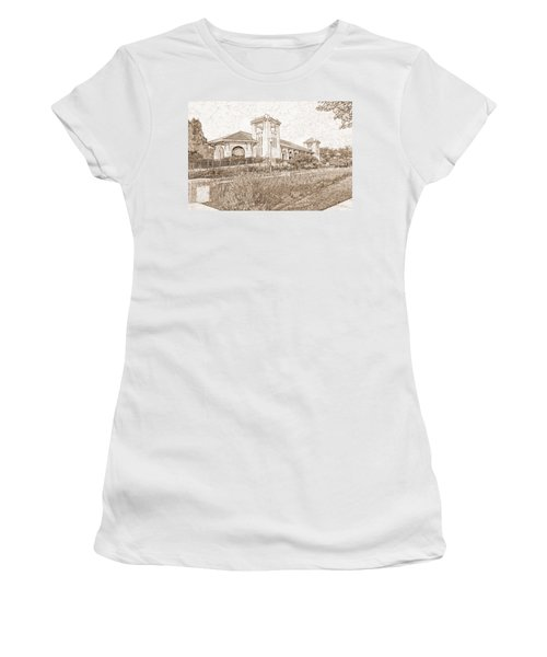 World's Fair Pavilion At Forest Park St Louis Women's T-Shirt (Athletic Fit)