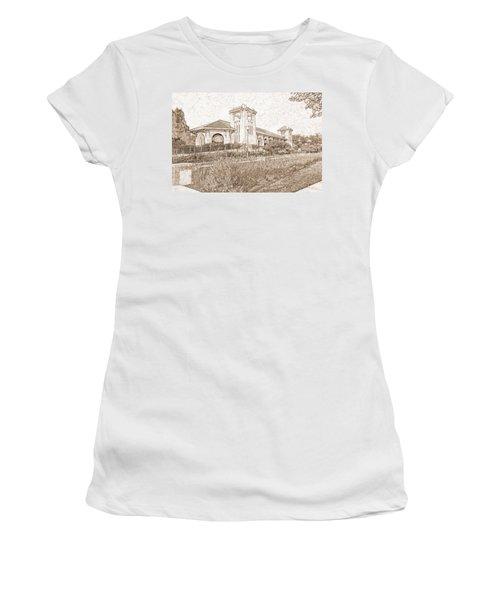 World's Fair Pavilion At Forest Park St Louis Women's T-Shirt (Junior Cut) by Greg Kluempers