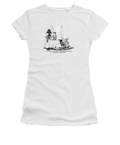 Would You Be Interested In Treading Where Women's T-Shirt