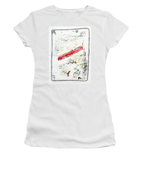 Wounded Verwundet Women's T-Shirt (Athletic Fit)