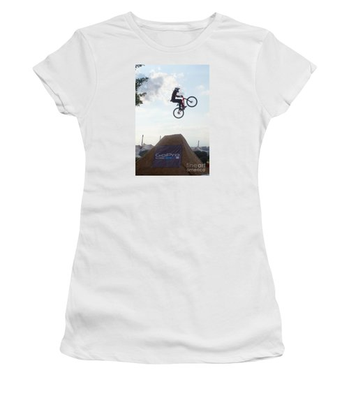 X Games Munich 4 Women's T-Shirt (Junior Cut) by Rudi Prott