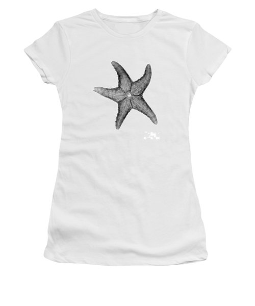X-ray Of Starfish Women's T-Shirt (Junior Cut) by Bert Myers