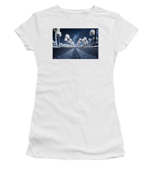 X Women's T-Shirt (Athletic Fit)