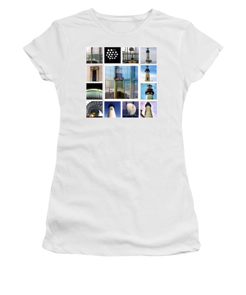 Yaquina Head Lighthouse Essence  Women's T-Shirt (Athletic Fit)