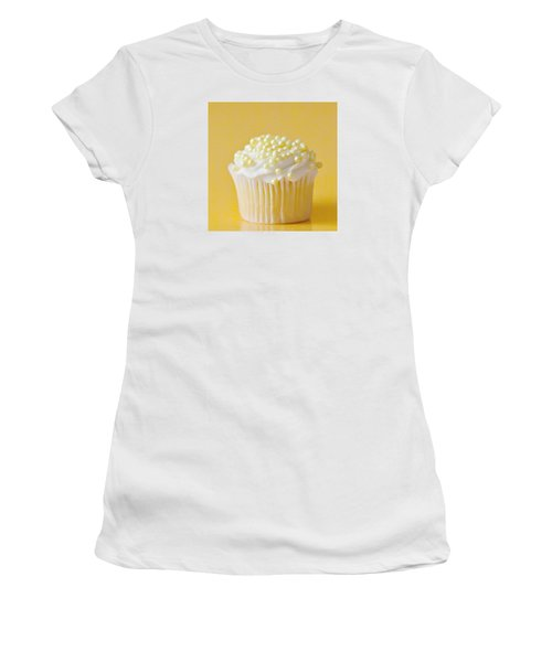 Yellow Sprinkles Women's T-Shirt (Junior Cut) by Art Block Collections