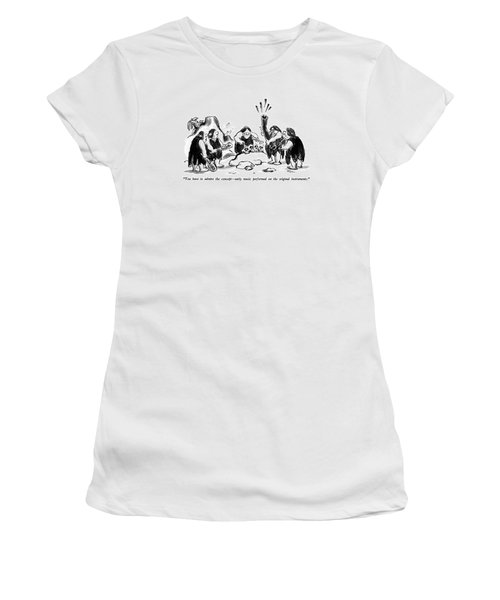 You Have To Admire The Concept - Early Music Women's T-Shirt