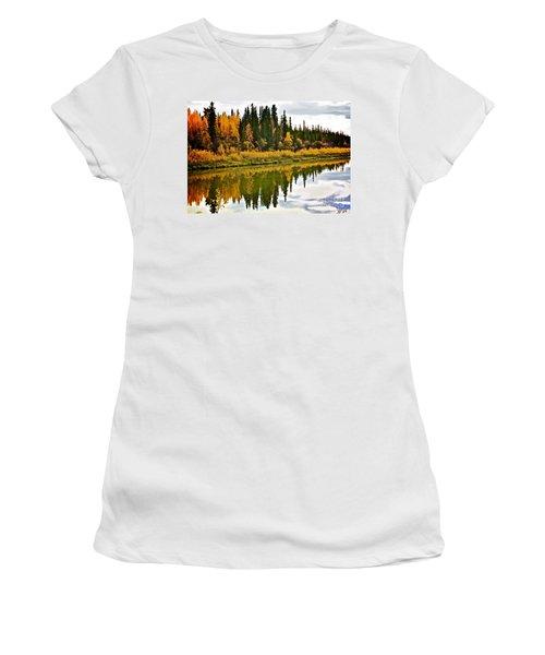 Yukon Autumn Women's T-Shirt (Athletic Fit)