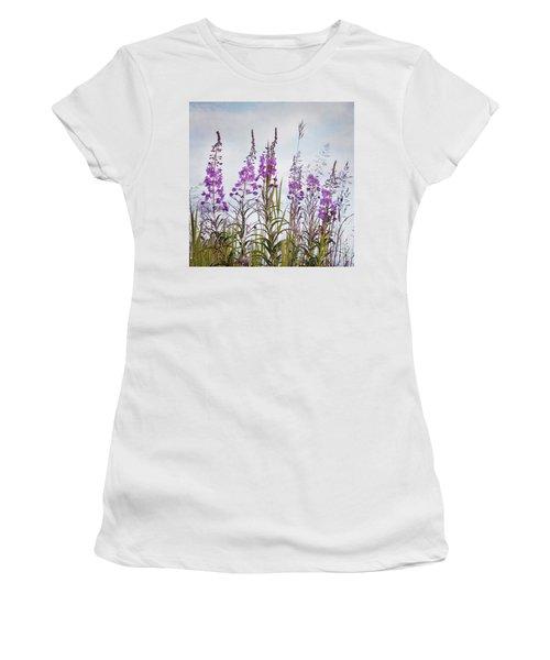 Yukon State Flower Women's T-Shirt