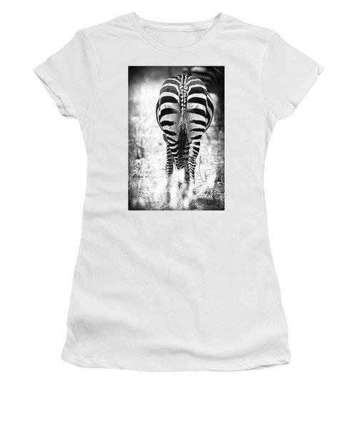 Zebra Butt Women's T-Shirt