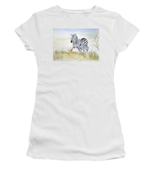 Zebra Family Women's T-Shirt