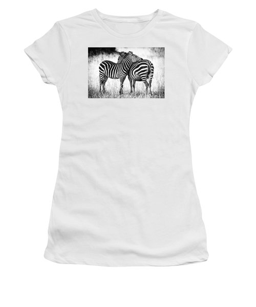 Zebra Love Women's T-Shirt