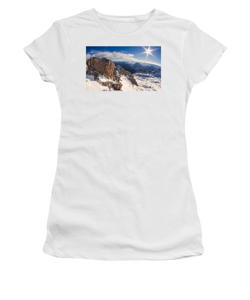 Zugspitze Summit Women's T-Shirt (Athletic Fit)