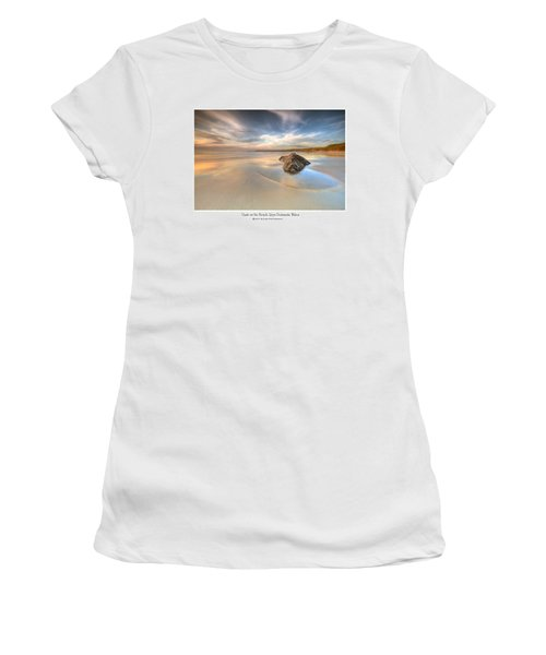 Dusk On The Beach Women's T-Shirt (Athletic Fit)