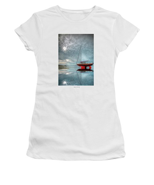 Waiting For The Tide Women's T-Shirt (Athletic Fit)