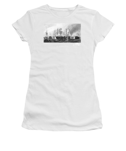 Battle Of Trafalgar, 1805 Women's T-Shirt