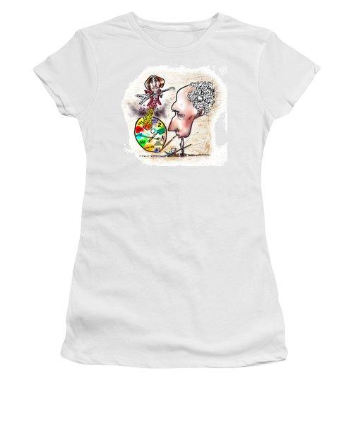 Happy Birthday Norman Rockwell Women's T-Shirt
