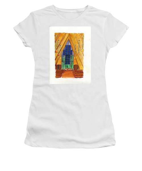 Placerville Chapel Women's T-Shirt (Athletic Fit)