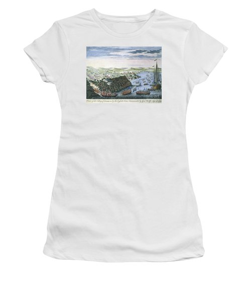 Wolfe At Quebec, 1759 Women's T-Shirt