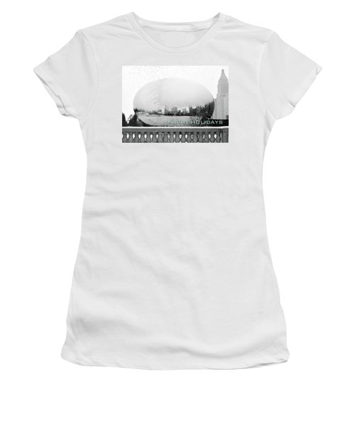 Happy Holidays From Chicago Women's T-Shirt