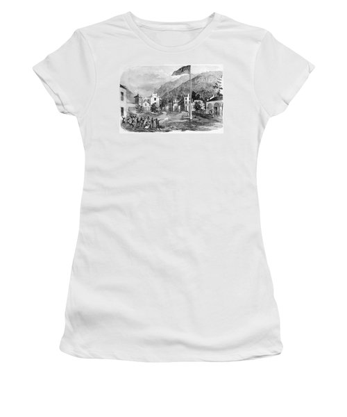 Harpers Ferry Insurrection, 1859 Women's T-Shirt