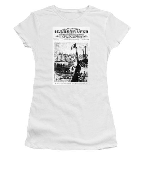 Statue Of Liberty, 1885 Women's T-Shirt